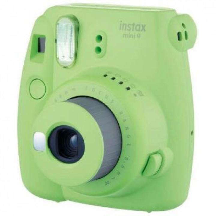 Фотоаппарат FUJI Instax Mini 9 CAMERA LIM GREEN TH EX D (Лаймово - Зеленый)
