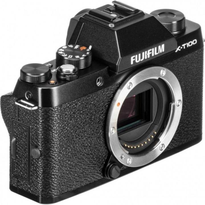 Фотоаппарат FUJIFILM X-T100 body Black (16582268)