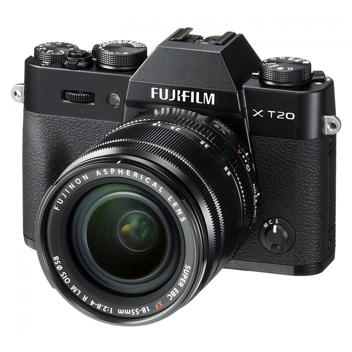 Фотоаппарат FUJIFILM X-T20 + XC 15-45mm F3.5-5.6 Kit Black (16584694)