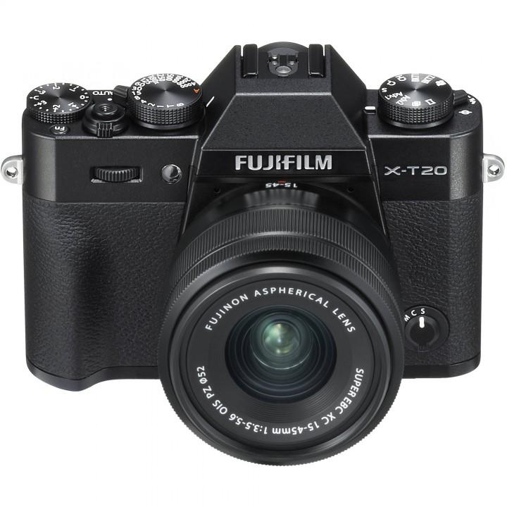 Фотоаппарат FUJIFILM X-T20 body Black (16542555)