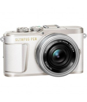 Фотоаппарат OLYMPUS E-PL9 14-42 mm Pancake Zoom Kit (V205092WE000) white/silver