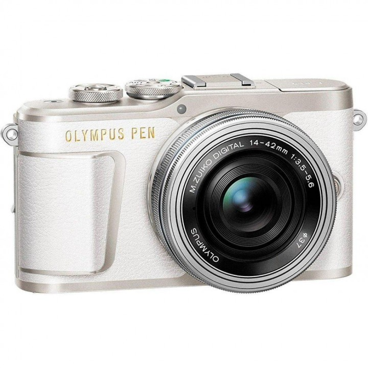 Фотоаппарат OLYMPUS E-PL9 14-42 mm Pancake Zoom Kit (V205092WE000) white/silver