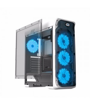 Корпус Gamemax StarLight W-Blue