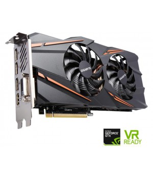 Видеокарта Gigabyte GeForce GTX1070 8GB, 256bit, DDR5 Windforce OC (GV-N1070WF2OC-8GD)