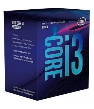 Процессор Intel Core i3-8100 3.6GHz/8GT/s/6MB  s1151 BOX
