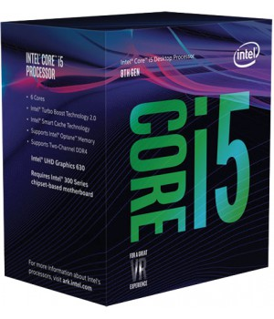 Процессор Intel Core i5-8400 2.8GHz/8GT/s/9MB  s1151 BOX