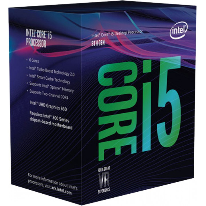 Процессор Intel Core i5-8400 2.8GHz/8GT/s/9MB  s1151 BOX