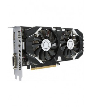 Видеокарта MSI GeForce GTX1050Ti 4GB, 128bit, DDR5 OC (GTX 1050 Ti 4GT OC)