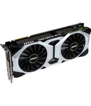 Видеокарта MSI GeForce RTX2080 8GB, 256bit, DDR6 Ventus OC (RTX 2080 VENTUS 8GOC)