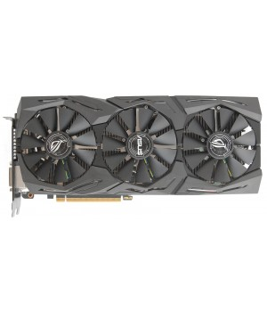 PCI-Ex Radeon RX580 ROG Strix OC 8GB GDDR5  (1360/8000) (DVI, 2 x HDMI, 2 x DisplayPort) (ROG-STRIX-RX580-O8G-GAMING)
