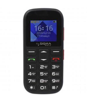 Телефон Sigma Mobile Comfort 50 mini 5 Black/Red
