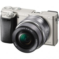 Системный фотоаппарат Sony Alpha A6000 kit (16-50mm) Silver