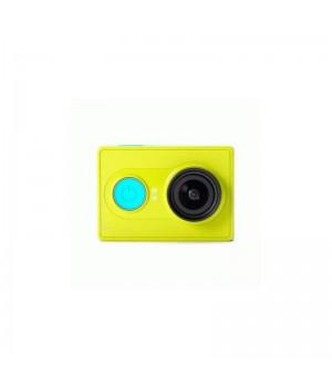 Видеокамера Xiaomi Yi Sport Green + Монопод Yi  Пульт ДУ (Международная версия)
